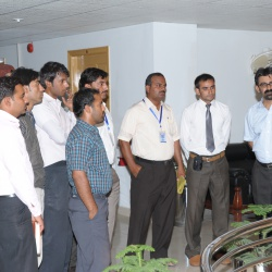 Visit of Students 10-07-2012