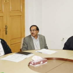 DG - Dr.Tajammul meeting with students 13-12-2010