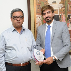 Farewell to Mr. Azeem A.Manager Askari Bank 31-10-2019