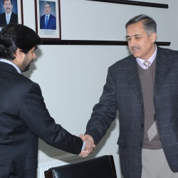 Visit of DG Federal Directorate of Education Islamabad  06-01-2020