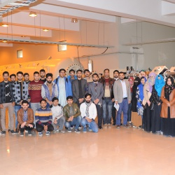 Visit of Students from Dr. A.Q.Khan Institute Kahuta 01-01-2020