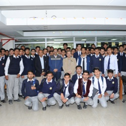 Visit of Students of KRL Model College For Boys Rawalpindi 18-02-2020