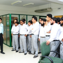 visit of University of Wah Cant 10-06-2013