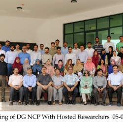 Meeting of DG NCP with Hosted Researchers  05-09-2018